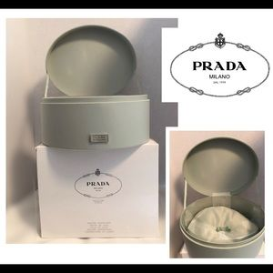 Prada sage beauty/jewelry box